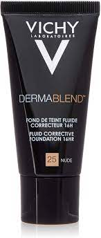 Buy Vichy Dermablend Fluid Corrective Foundation 16h 25 Nude 30ml online